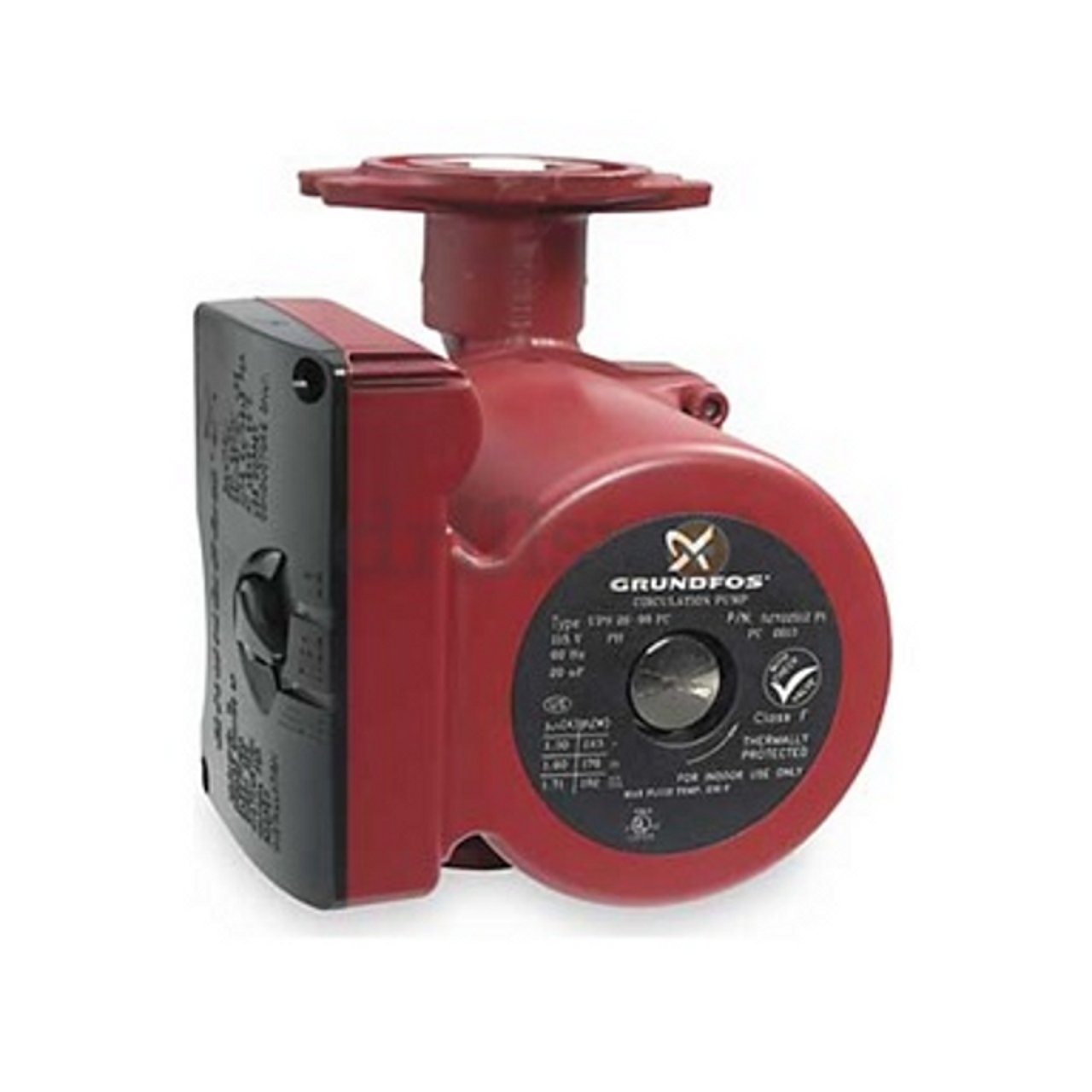 Grundfos 52722512 3-Speed 1/6 Horsepower Circulator Pump with Flow Check by Grundfos