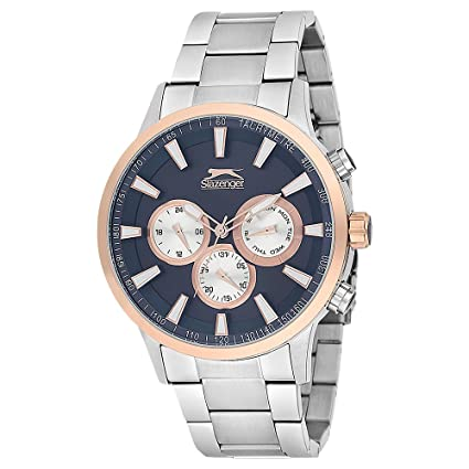 SLAZENGER Mens Chronograph Stainless Steel Watch-SL91348202