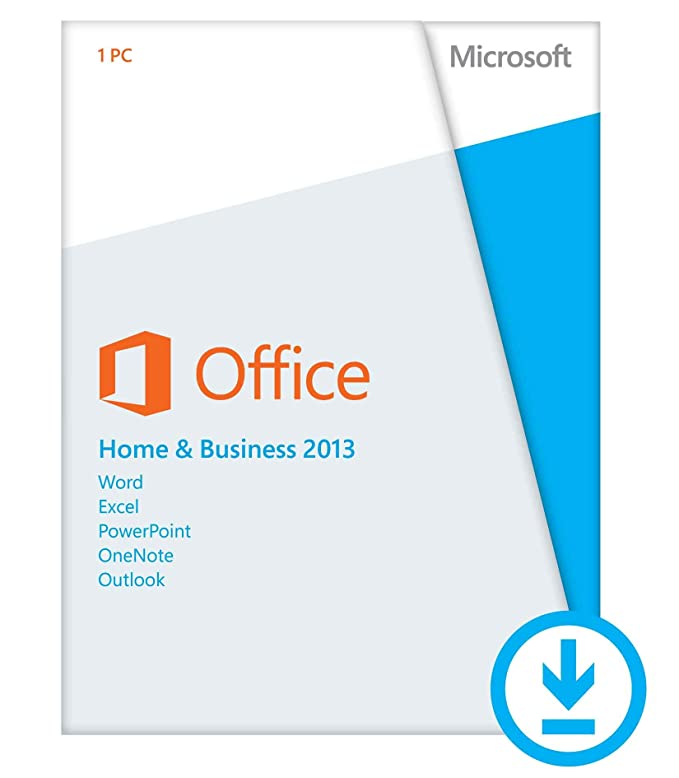 Amazon.com: Microsoft Retail Office Home Business 2013 Product Key ...