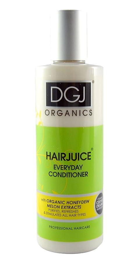 DGJ Organics melón zumo de pelo diario Acondicionador 250 ml