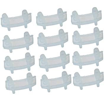 Gimiton - 6 piezas de recambio para bujías de goma, repuesto, repuesto, almohadilla de amortiguación para Nutribullet 600 W 900 W: Amazon.es: Hogar