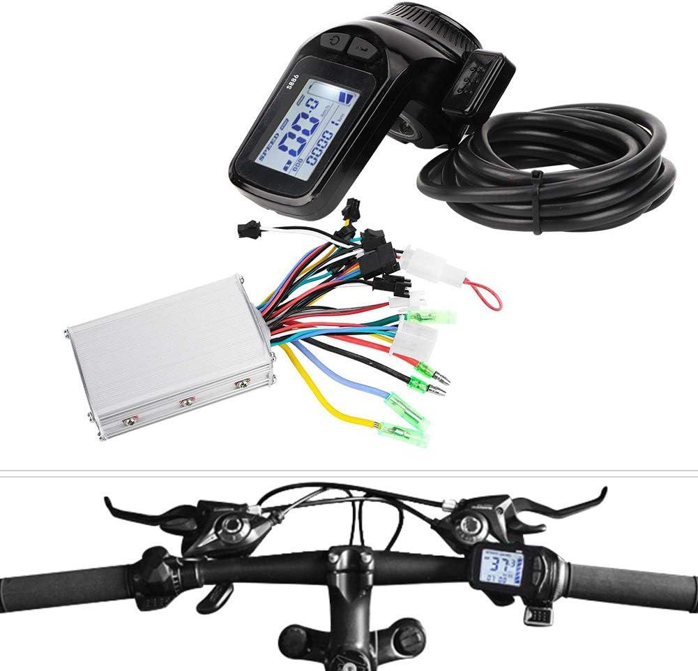 350W 36V//48V E-Bike Steuergerät E-Scooter Fahrrad Motor Brushless Controller DE3