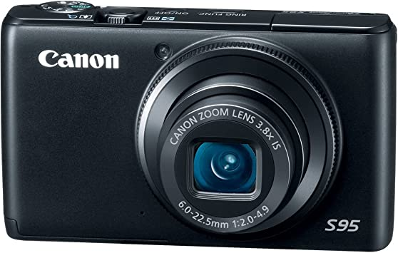 Amazon Com Canon Powershot S95 10 Mp Digital Camera With 3 8x Wide Angle Optical Image Stabilized Zoom And 3 0 Inch Lcd Point And Shoot Digital Cameras Camera Photo