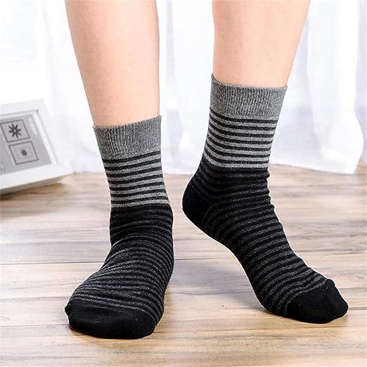 12 piezas-pack calcetines de algodón calcetines de los hombres de ...