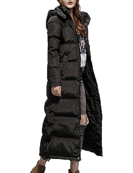 Amazon.com: Flygo - Chaqueta de invierno con capucha y ...