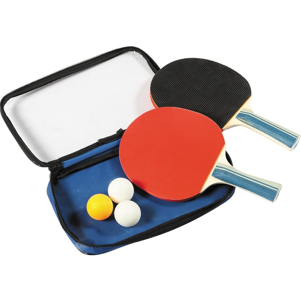 Blue Wave 2 Tabletennis Rackets & 3ボール B00GS324BG