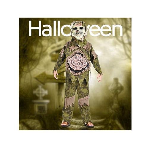 ZGCP Disfraz de Halloween Niño Marsh Monstruo Disfraz Horror ...