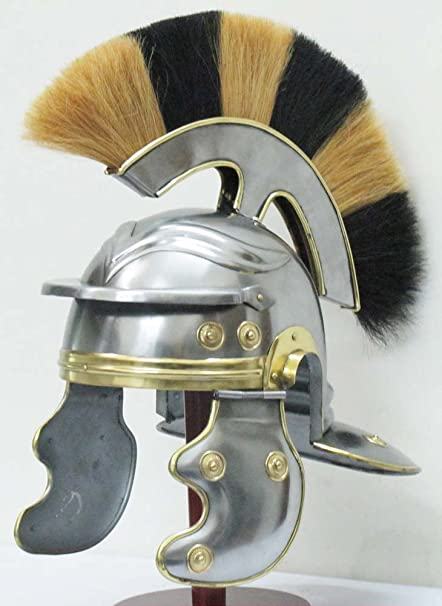 Shiv Shakti casco de armadura de caballero Medieval de la empresa romano centurión romano oficial casco