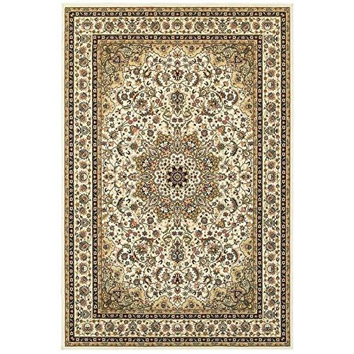 Oriental Weavers K119W1160230ST Kashan Area Rug 5' x 8' Ivory/Beige