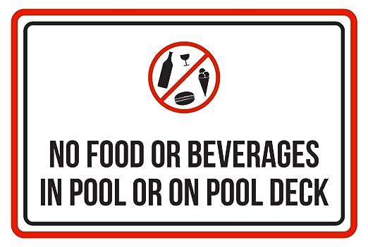 Sin alimentos o bebidas, o en la piscina cubierta de piscina ...