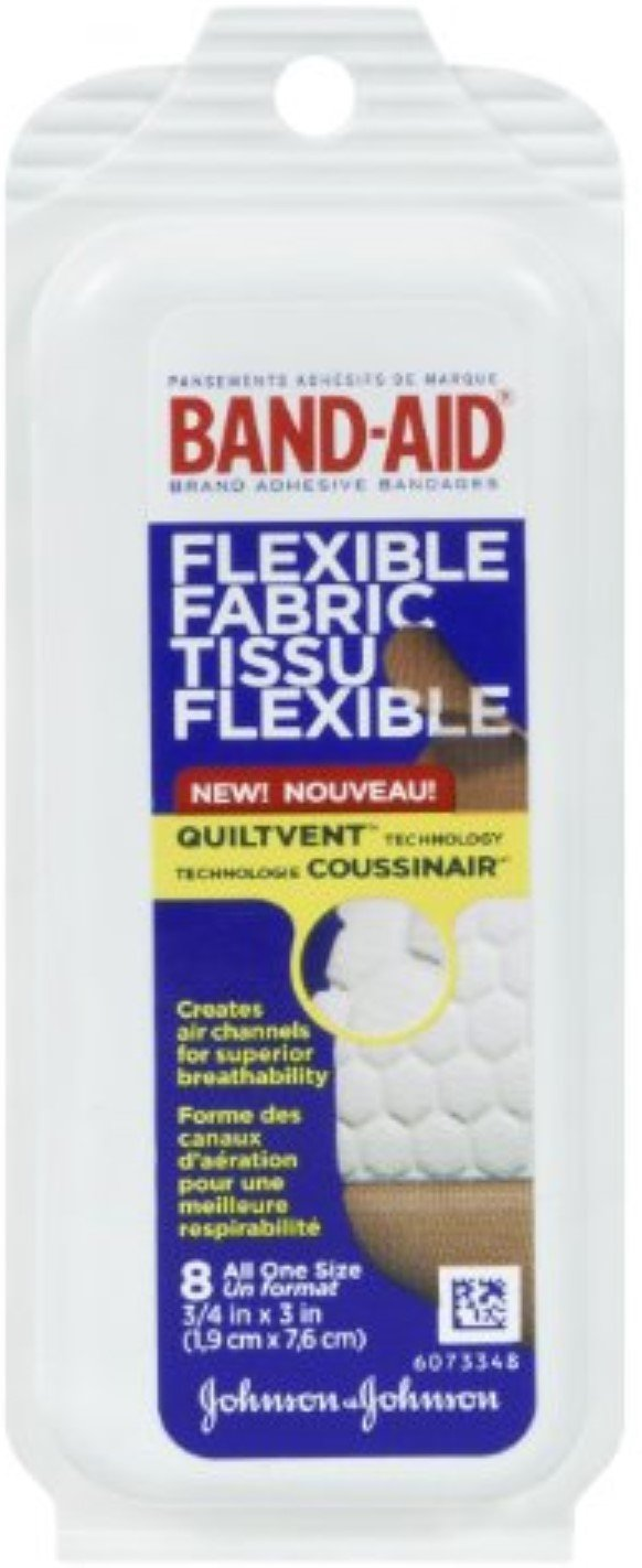 B-A Clr Travel Pack Size 8ct Band-Aid Clear Travel Pack 8ct