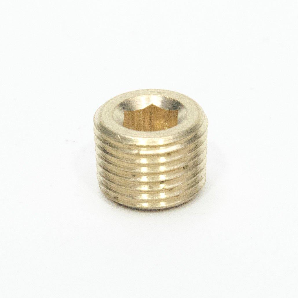"Steel Hex Head Pipe Plug 1/"" Male NPT MPT MIP Fitting FasParts"