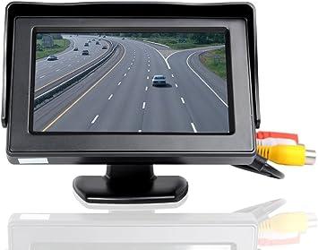 KKmoon 4,3 pulgadas Monitor de Coche TFT LCD Pantalla