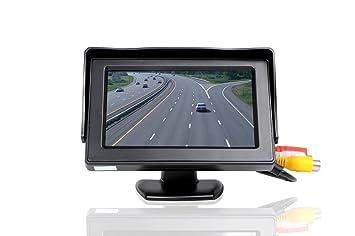 Pantalla de cámara de 4,3 pulgadas y de alta resolución, TFT, LCD