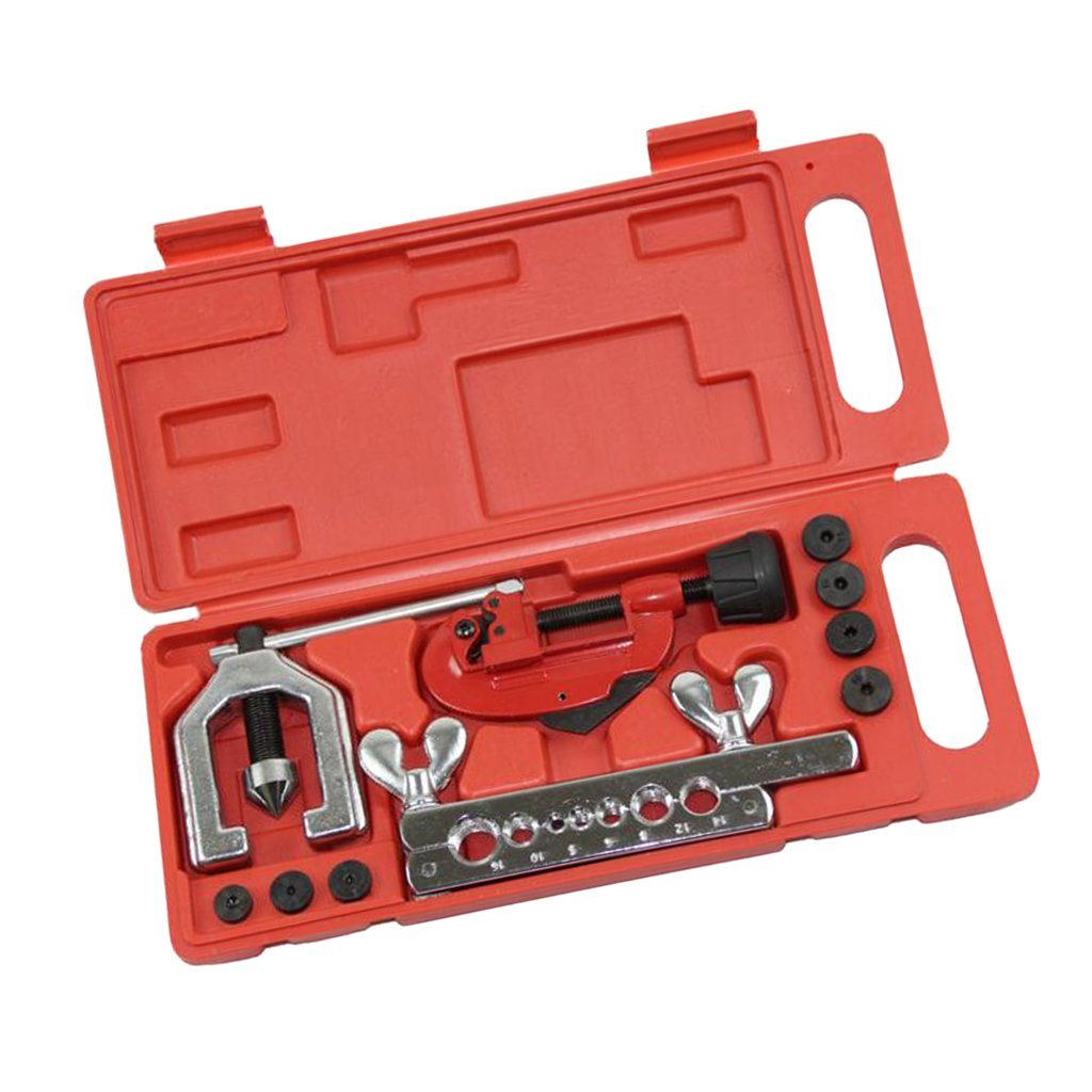 Dovewill Metric Car Brake Pipe Flaring Tool Set Installation Kit Car Flare CT-2031