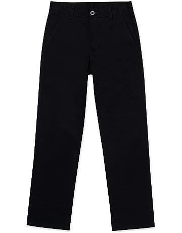 e1ddc0b97 Nautica Boys' School Uniform Flat Front Twill Pant