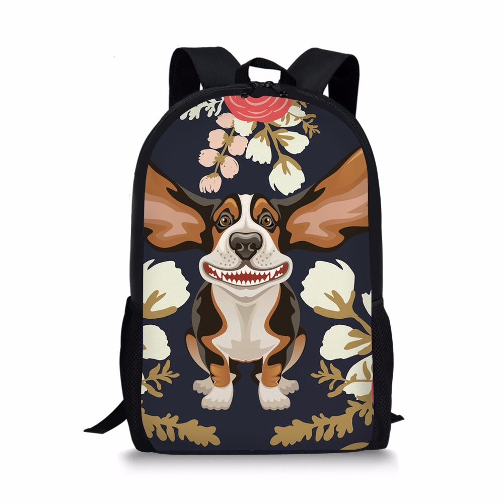 HUGS HUGS HUGS IDEA Mochila infantil, Yorkshire Terrier2 (Marrón) - Y-H8578C+G 1ec9ad
