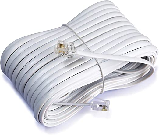 iMBAPrice 50 Feet Long Telephone Extension Cord Phone Cable Line Wire on telephone equipment, cable wiring, telephone handset holder, telephone plugs, telephone transmitter, telephone components, telephone computer, telephone tools, telephone switch, telephone number, telephone systems, data wiring, telephone design, telephone diagram, telephone blue, telephone cables, computer network wiring, telephone connectors, telephone relay, telephone wires, telephone schematic, computer wiring, telephone service, low voltage wiring, electrical wiring, telephone jacks, telephone panel board, telephone repair, telephone communication system, telephone data lines, telephone line work, telephone installation, telephone operators,
