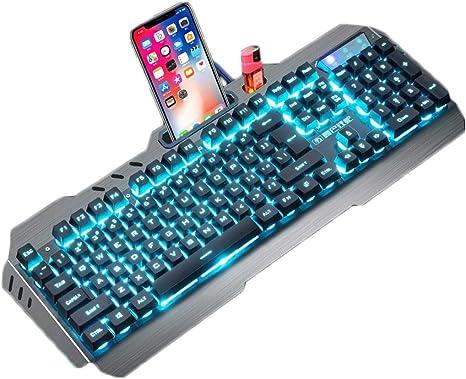 OUKB Juego Teclado Ordenador portátil con Cable Computadora ...