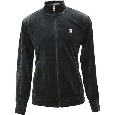 7c88e70ce29 FILA Velour Jacket at Amazon Men's Clothing store: