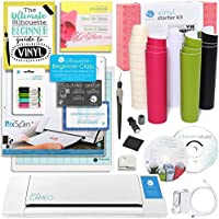 Silhouette Cameo Starter Bundle with Online Class, Guide, Pixcan, Vinyl Starter Kit, and More!