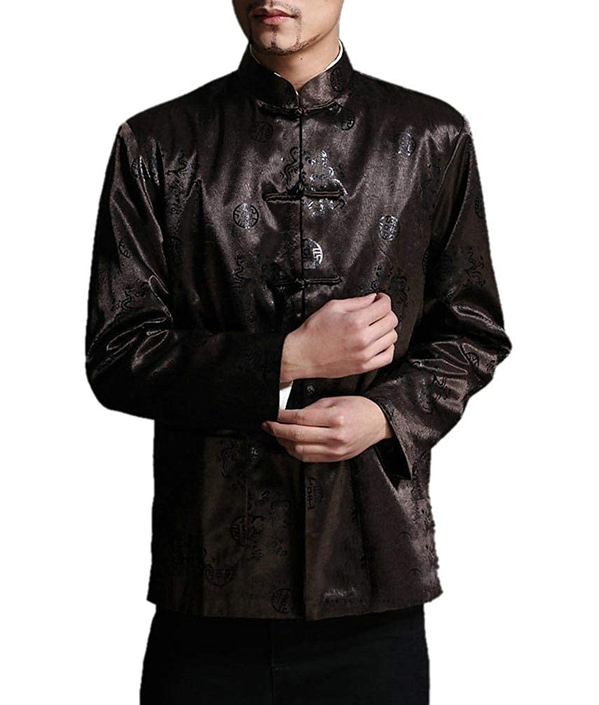 Interact China Classic Chinese Tai Chi Kungfu Jacket Blazer - Silk Blend