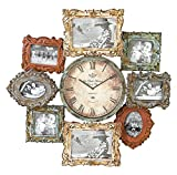 Cheap Deco 79 Metal Clock Photo Frame, 25 by 25-Inch