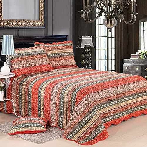 quilted duvet cover queen - 6
