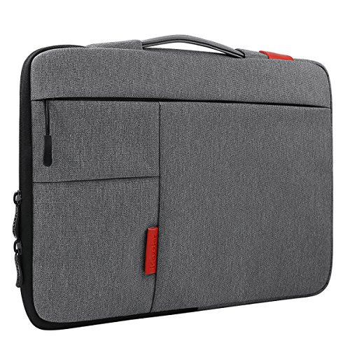 iCozzier-116-125-Inch-Handle-Strap-Laptop-Sleeve-Case-Bag-Protective-Bag-for-Macbook-AirMacbook-Pro-Pro-Retina-Sleeve---Dark-Gray