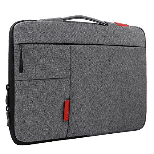 iCozzier 11.6-12.5 Inch Handle Strap Laptop Sleeve Case Bag Protective Bag for Macbook Air/Macbook Pro / Pro Retina Sleeve - Dark Gray