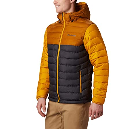 columbia powder pass chaqueta con capucha hombre