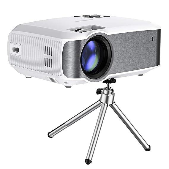 VICTSING Proyector,3000 Lúmenes Multimedia Vídeo Mini Proyector ...