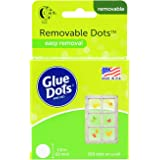Glue Dots Removable Adhesive Dot Roll, Contains 200 (.5 Inch) Diameter Dots