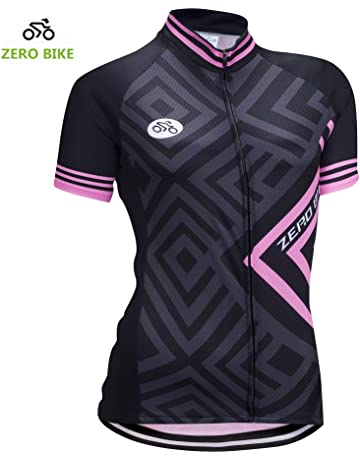 ZEROBIKE Women s Short Sleeve Cycling Jersey Jacket Cycling Shirt Quick Dry Breathable  Mountain Clothing Bike Top cd0cc127f