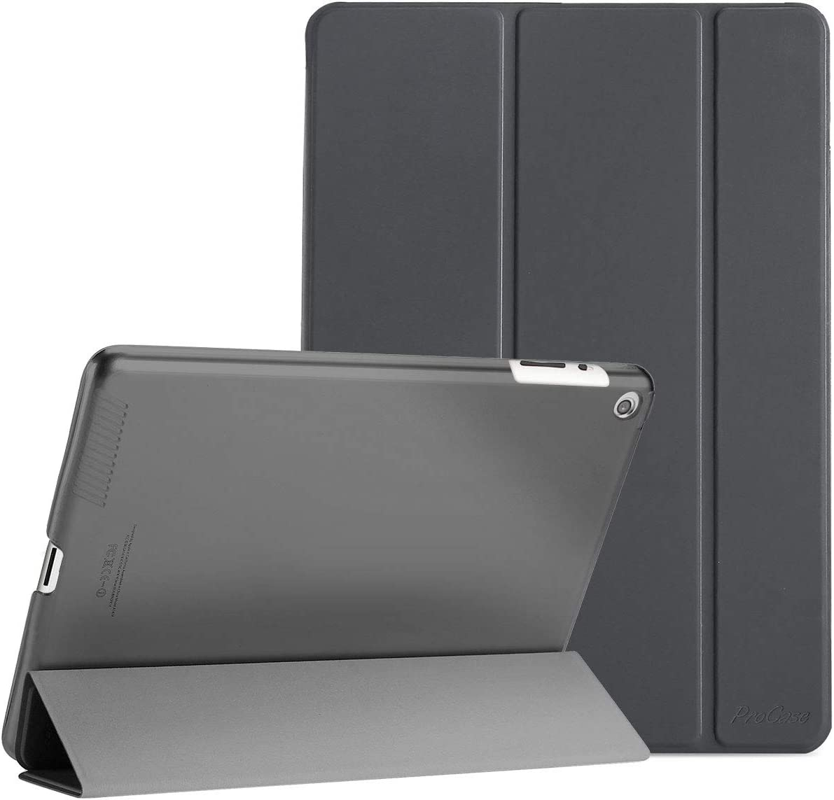 Funda ProCase para Apple iPad 2 / iPad 3 / iPad 4 (Gris)