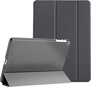 ProCase iPad 2 3 4 Case (Old Model) – Ultra Slim Lightweight Stand Case with Translucent Frosted Back Smart Cover for Apple iPad 2/iPad 3 /iPad 4 –Gray