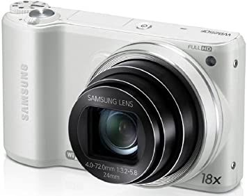"""Review Samsung WB250F 14.2MP CMOS Smart WiFi Digital Camera with 18x Optical Zoom, 3.0"""" Touch Screen LCD and 1080p HD Video (White) (OLD MODEL)"""