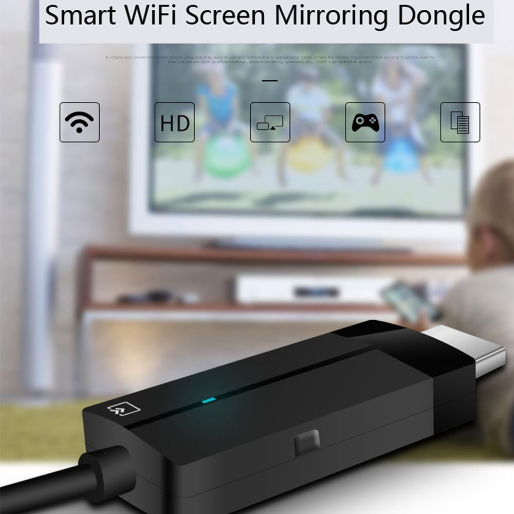 Efanr Smart Wifi Screen Mirroring Dongle HDMI Video Adapter Cable Wireless Display Dongle for IOS Android Phone by Efanr (Image #6)