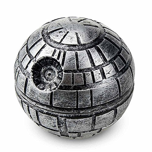 Great Features Of Brandnew Enterprises Death Star Weed Grinder with 1.9-Inch 3 Piece Crusher and Pol...