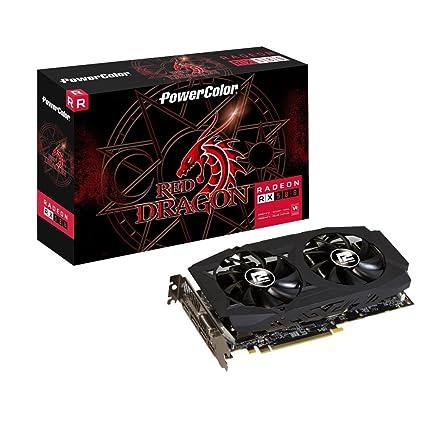 PowerColor axrx 580 D5 - 3dhdv2/OC AMD Radeon RX 580 4 GB Rojo ...