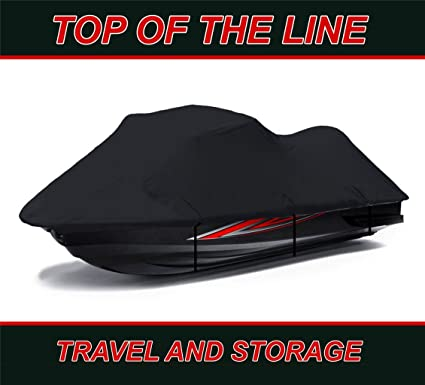Kawasaki Stx 15F >> Amazon Com Black 600 Denier Jet Ski Cover Kawasaki Stx 15f