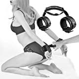 Handcuff with Handle Restraint Kit - SEXY SLAVE Doggy Style Sex Bondage Set, Ass Up Doggy Position Kinky Sex Toys for…