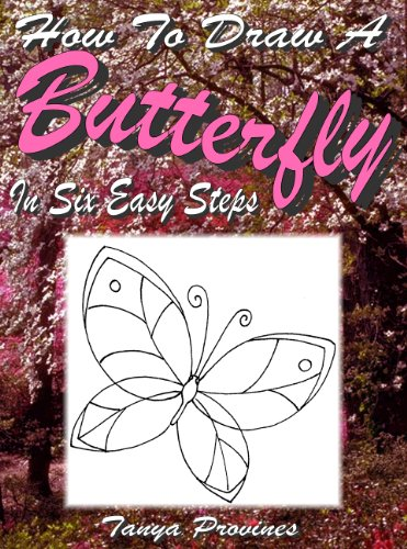 How To Draw A Butterfly In Six Easy Steps (Easy Drawings Of Butterflies Step By Step)