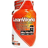 Muscle Elements LEANWORKS – Stimulant Free Thermogenic Fat Burner & Metabolic Optimizer with L-Carnitine & Green Coffee Bean Extract, Best Caffeine Free Fat Burner, 90 Count