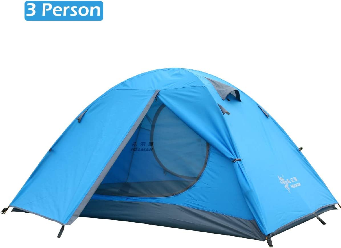 TRIWONDER 2-3 Person Tent for Camping Backpacking Travel, Lightweight Waterproof 3 Season Tent UV Protection with Carry Bag