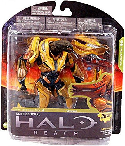 McFarlane Toys Action Figure - Halo Reach Series 4 - ELITE GENERAL -