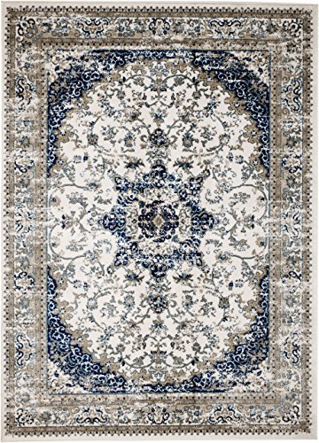 MADISON COLLECTION 22-ZI2D-JU5Y 401 Vintage Distressed Style Area Clearance Soft Pile Durable Size Option, 1'10'' x 2'.11'' Scatter rug Door (1'10' X 2'10' Rectangular Rug)