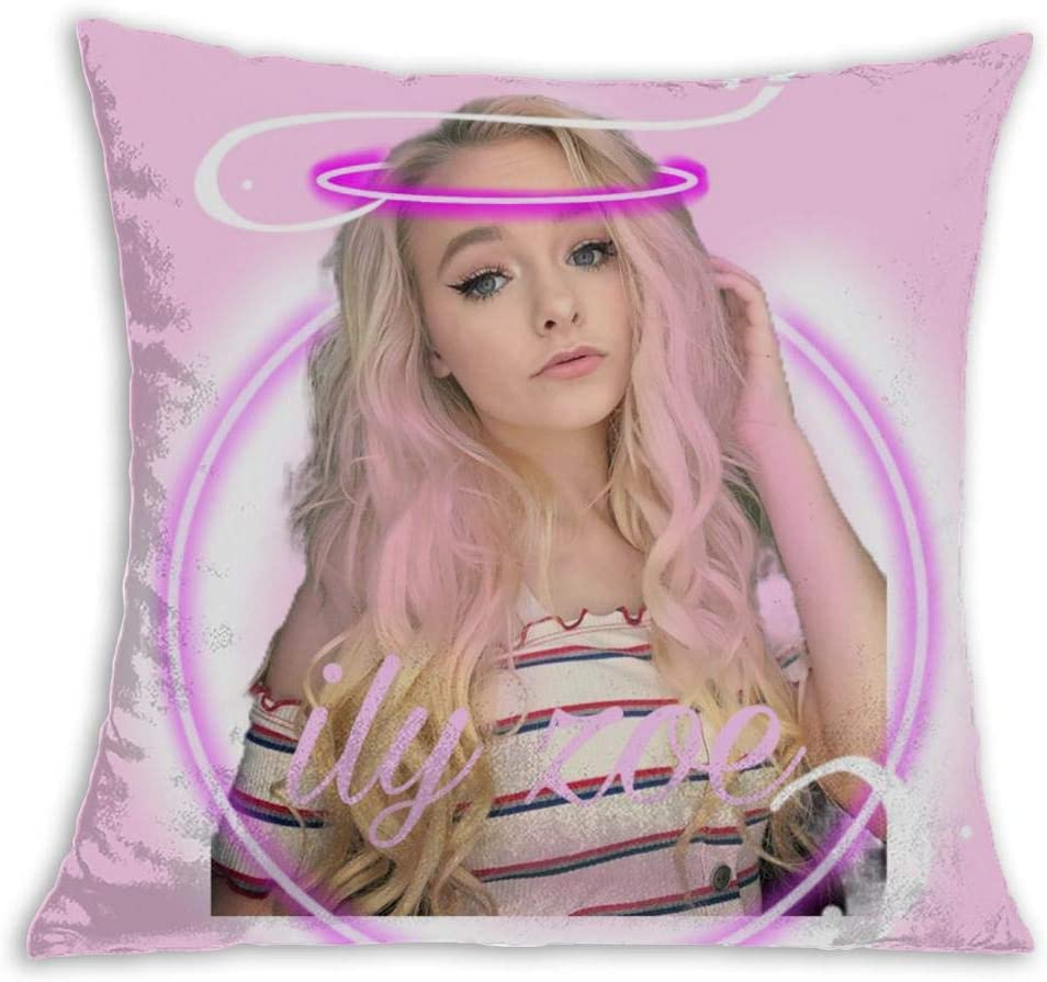 Cindysweet Zoe La Verne Pillow Covers Fashion Throw Pillow Cover Washable Decorative Pillow Cases Cushion Case For Couch Sofa 18 X 18 Inch Home Kitchen