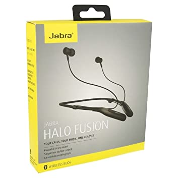 413712cf8df JABRA HALO FUSION BLUETOOTH HEADSET: Amazon.in: Electronics