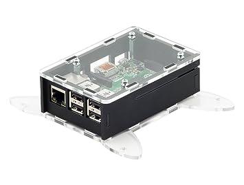 Carcasa VESA para Raspberry Pi B+/2/3: Amazon.es: Informática